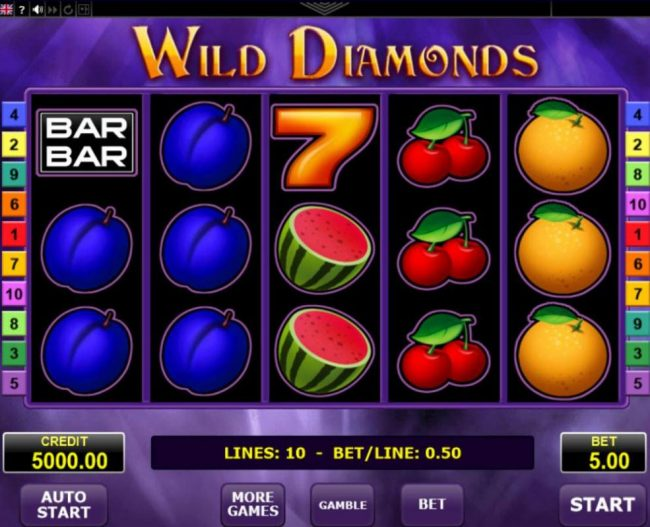 Slot Wild Diamonds