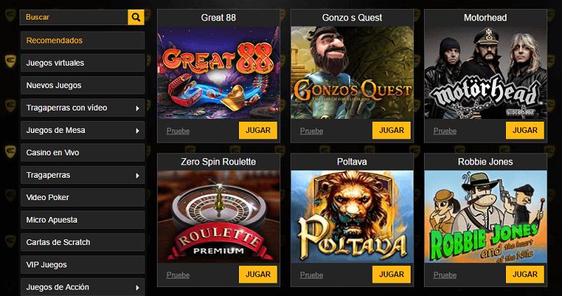 Enzo casino juegos