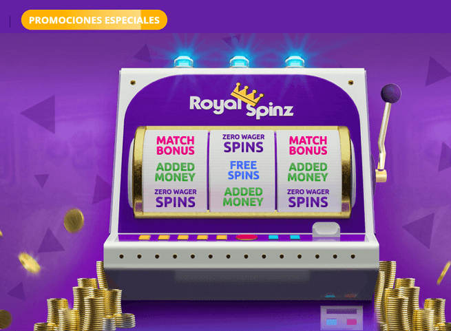 royal spinz promociones