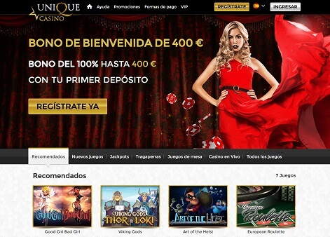 unique casino analisis