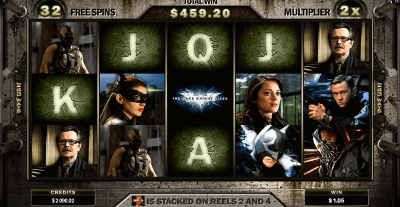 Slot The Dark Knight Rises