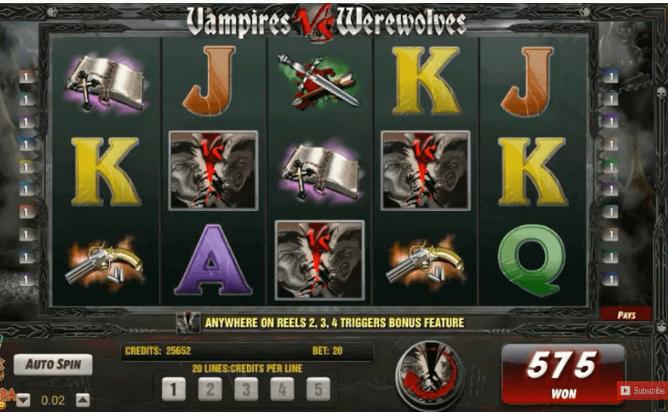 Slot Vampire vs. Werewolves