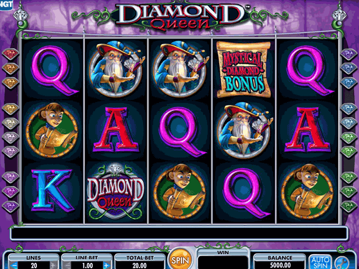 diamond queen iframe