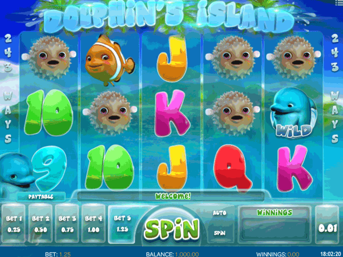 dolphins island iframe