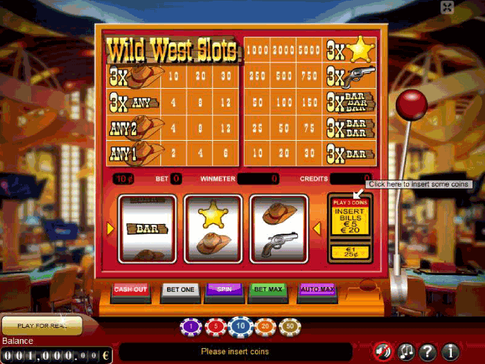 wild west slots iframe