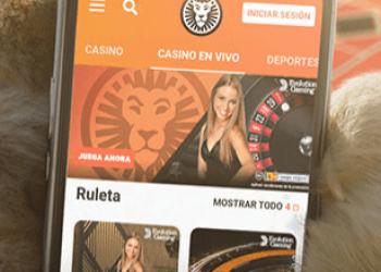 App móvil LeoVegas