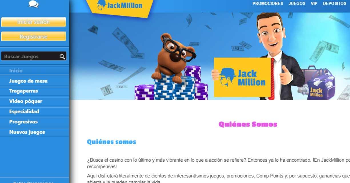 Jack Million Analisis Opiniones