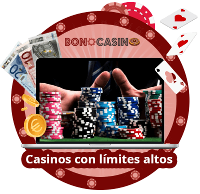 Casinos online con limites altos de apuestas