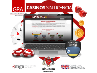 Casinos españoles online sin licencia