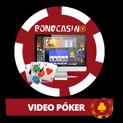 Jugar al video póker en casinos online